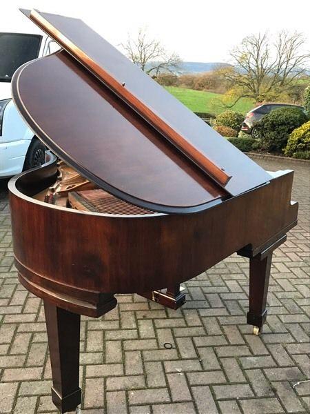 John Broadwood 5 Ft Baby Grand Piano Rosewood Case