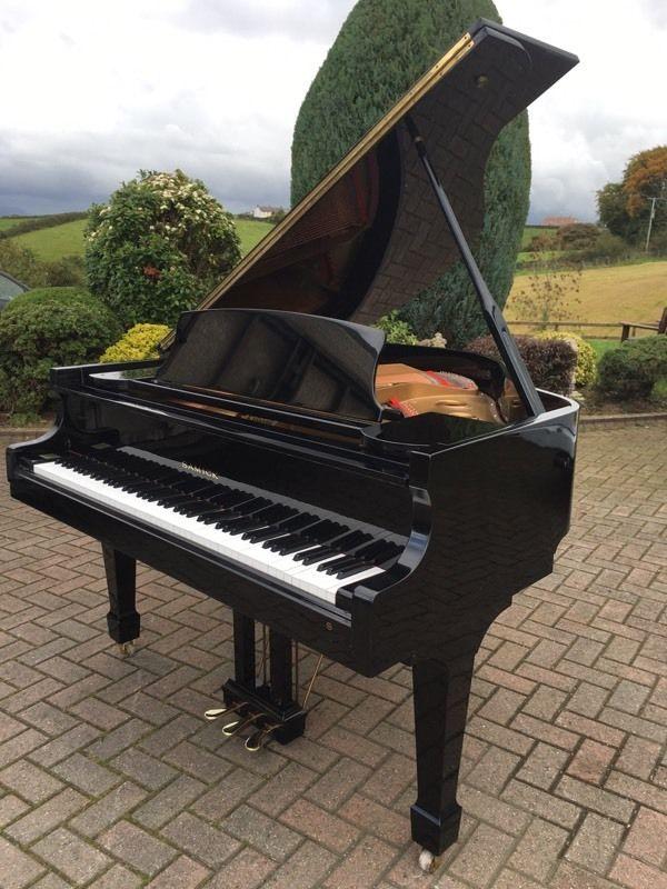 samick sg 155 black baby grand piano belfast pianos grand pianos restoration pianos. Black Bedroom Furniture Sets. Home Design Ideas