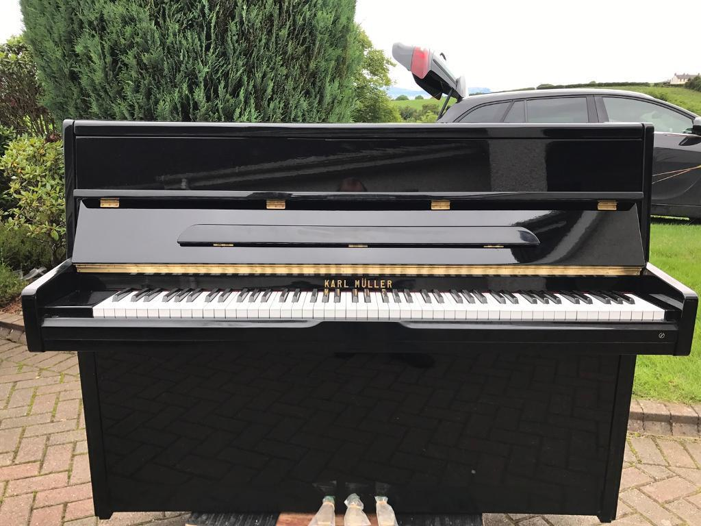 Modern Black Upright Piano Belfast Pianos Free Delivery