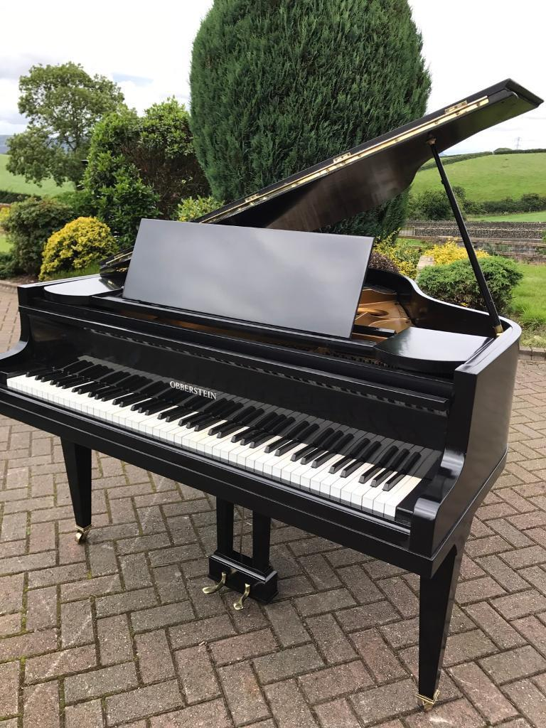 Black Baby Grand Piano Belfast Pianos 4 6ft Free